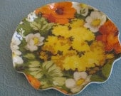 Floral Fab Fabric Serving Tray