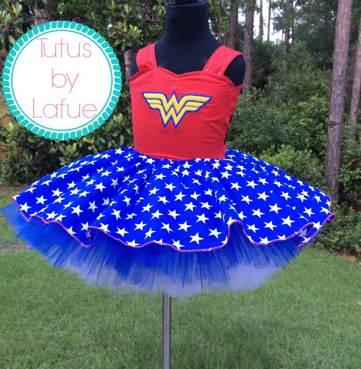 Wonder Woman Tutu Dress By TutusbyLafue On Etsy