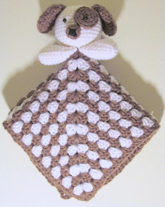 Free Crochet Dog Lovey Pattern : Puppy Lovey PDF Crochet Pattern INSTANT DOWNLOAD