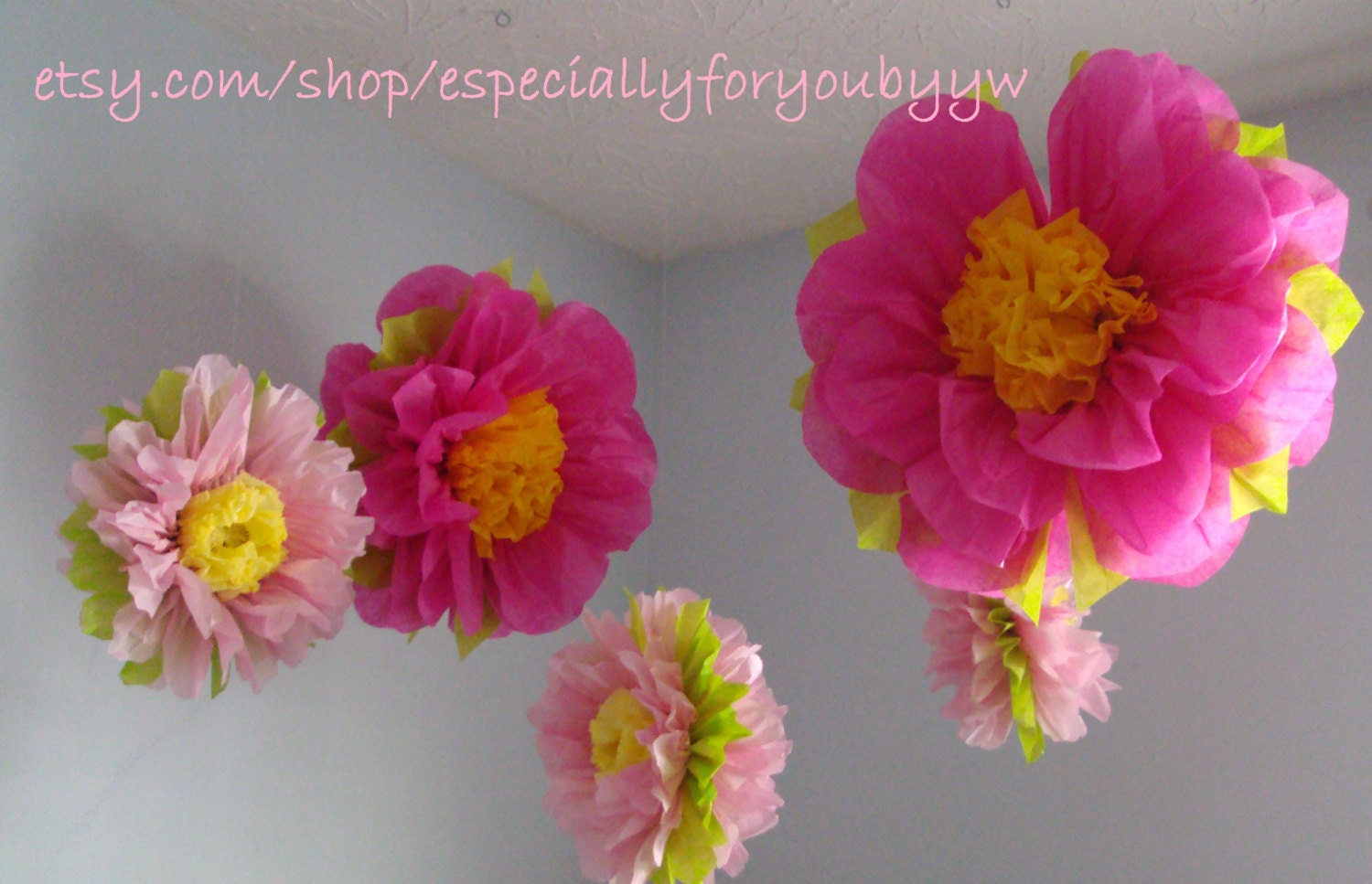 1st birthday decorations 5 tissue paper pom poms flowers for 1st birthday decoration