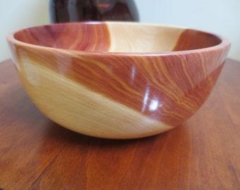 Red Cedar Bowl - A Contrast in Color