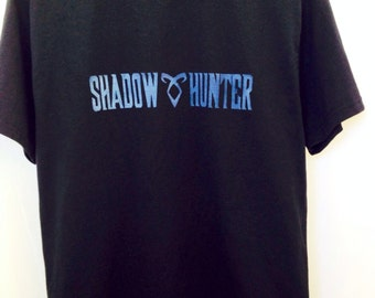 Shadow Hunter, Mortal Instruments, City of Bones, Jace Wayland, Clary Fray, Tshirt
