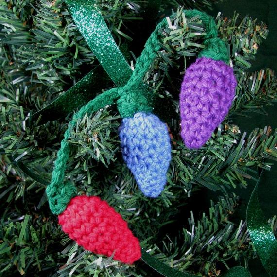 Zelda Amigurumi Patterns : Amigurumi Crochet Pattern String of Lights Christmas