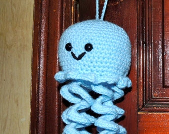 Jolly Joe the Jellyfish Amigurumi - Decoration/Toy - Various Colors - Made-to-Order