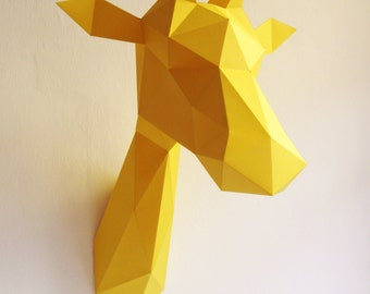 Paper Giraffe Folding Kit