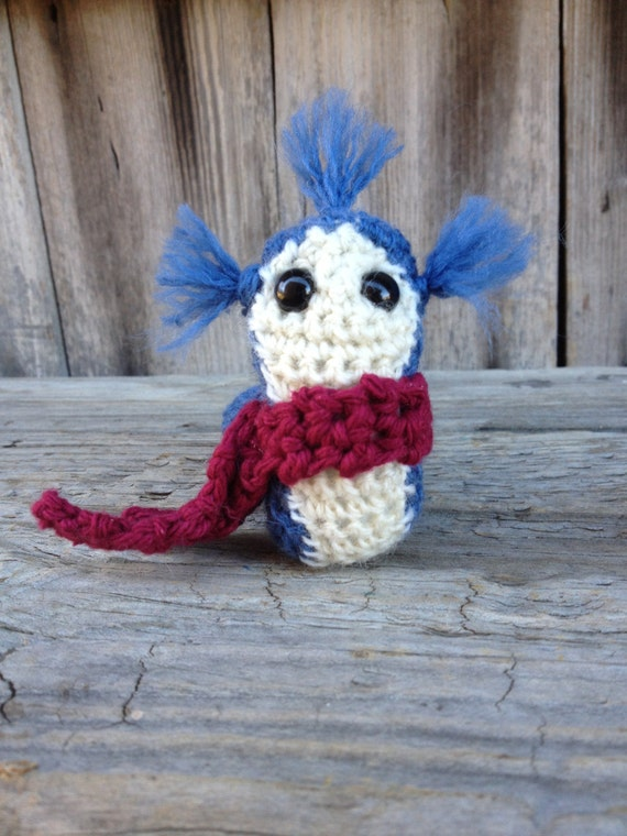 Ready to Ship: Crochet Labyrinth Worm
