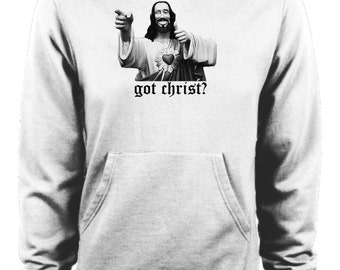 Clerks 2 - Jay and Silent Bob Got Christ Buddy Christ Hoodie