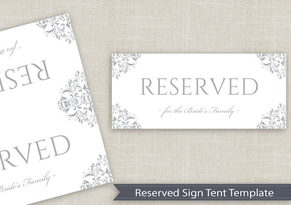 table tent signs template