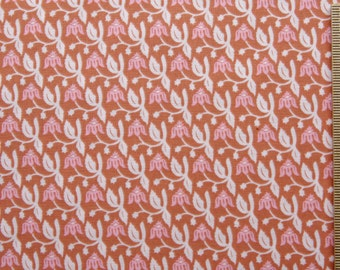 Joel Dewberry fabric Aviary Rose JD17 Pink floral 100% Cotton Free Spirit Sewing quilting cotton fabric by the yard