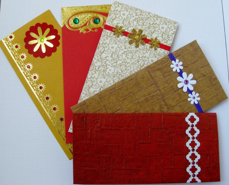 Indian Wedding Gift Envelopes : Money envelope shagun envelopes gift envelope / holder by Rosmina