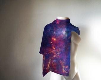 Galaxy Nebula Scarf / Space print Scarf / Space print pashmina
