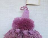 Tassel Trim Purple Lavender Decorative Tassel Supply Crafts  Key  Pillow Purse Upholstery Bedding Drapery