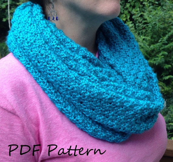 Double Seed Stitch Knitting In The Round : Pdf knitting pattern double seed stitch cowl by