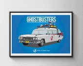 Ghostbusters Poster - 80s Movie Poster 12 x 18
