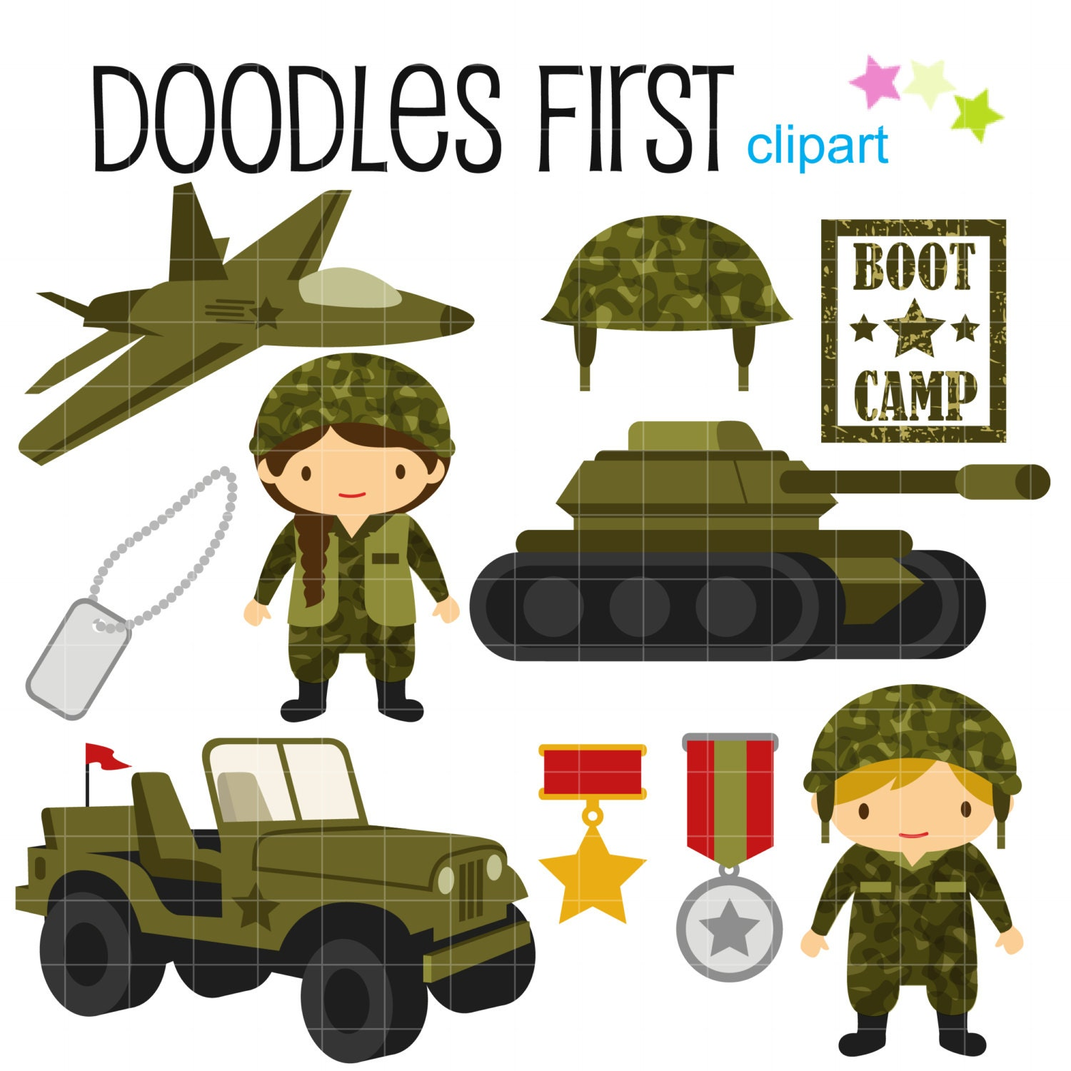 Military ClipART - Free Fun Clipart for Kids and Teachers ...