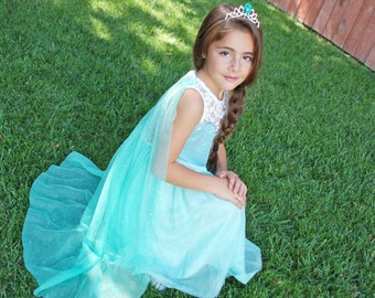 Queen Elsa dress - X LARGE