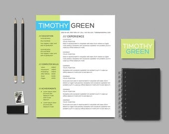 creative resume template word - Awesome Resume Templates 2