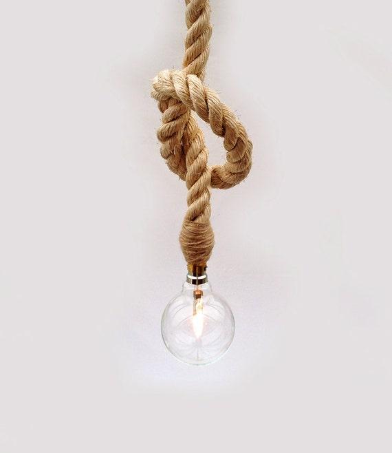 dekorative nautische sisalseil eco glas globe lampe. Black Bedroom Furniture Sets. Home Design Ideas