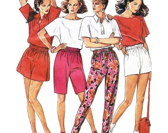 Simplicity New Look 6334 Sewing Pattern Misses Pants & Shorts  Sizes 8-18