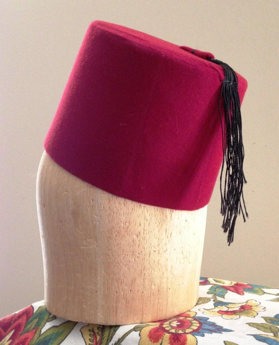 cc7d6ee3f4873 Mini Fez Moroccan Hat Turkish Hat Red Velvet By HatHiveHoney · Red Fezzes:  Hat A Red Fez Hat For Your Collection Dr. Who Is That