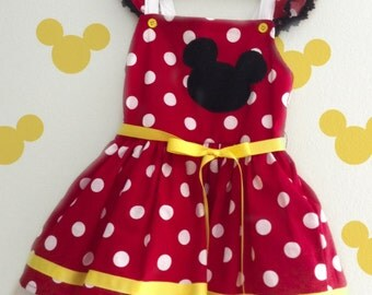 Minnie Mouse Dress/Costume for Girls