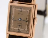 14K Gold Grant Wrist Watch with Swiss Movement