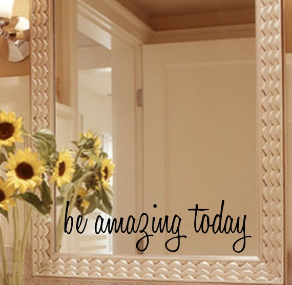 Original  Selfadhesive Bathroom Mirror Wall Stickers For Home Decal MS361002