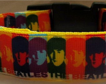 Cool & Unique Beatles dog collar