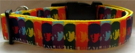 Beatles Dog Collar