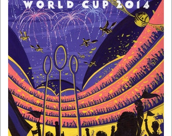 Quidditch World Cup Giclee print