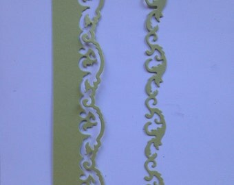 Over the Edge Flourish Border Die Cut