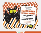 Halloween Invitation Download - Halloween Party Invitation - Kids Halloween Invitation - Halloween Editable Invitation (Instant Download)