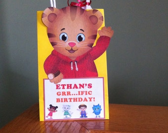Daniel Tiger Party Favor Bags - Personalized
