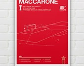 Massimo Maccarone vs Steaua Bucharest Giclee Print