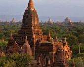 Print of Temples of Bagan by Noah Willman