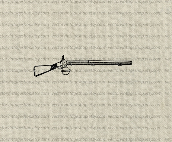 Gun Vector Graphic Instant Download, Commercial Use ...