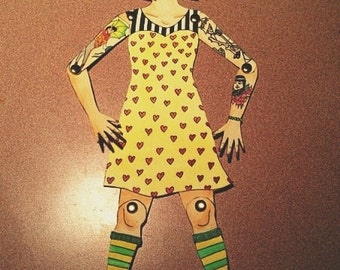 Personal Customized Paper Dolls.