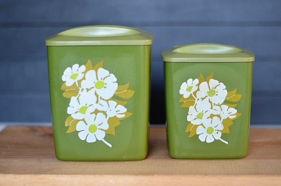 items similar to on sale set of 2 retro green kitchen