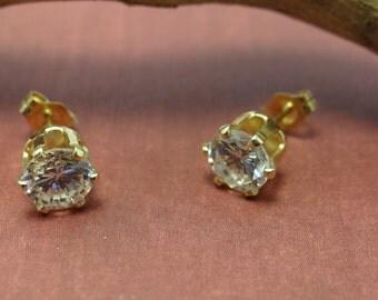 CZ Diamond Earrings