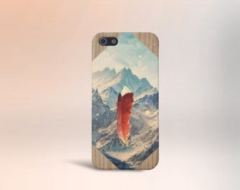 Feather in the Mountains Case for iPhone 6 6 Plus iPhone 7  Samsung Galaxy s8 edge s6 and Note 5  S8 Plus Phone Case, Google Pixel