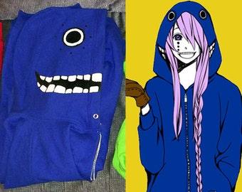 Matryoshka Vocaloid Hoodie - Blue (Gakupo/Kaito)