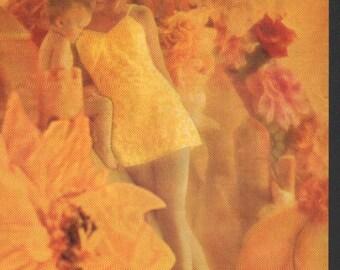 Fashion photo/illustration, Vogue or Harpers Bazaar, 9x12 in - fash471