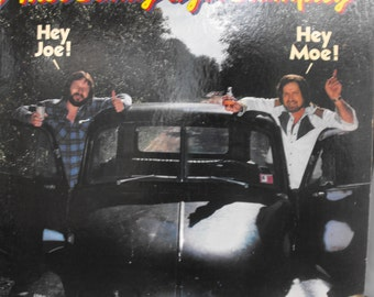 Moe Bandy and Joe Stampley, Hey Joe! Hey Moe!, Vintage Record Album, Vinyl LP, Country Music, Singing Duo, Classic Country and Western