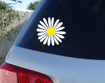 Daisy Decor Etsy - Magnetic car decals flowers