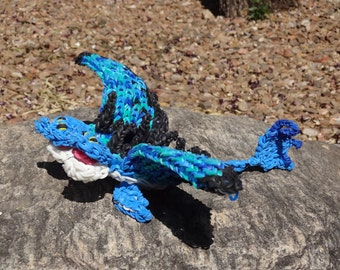 Rainbow Loom Rubber Band Dragon How To Train Your Dragon