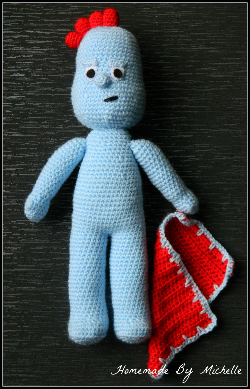 Knitting Pattern Iggle Piggle : In the night garden Iggle Piggle inspired by ...