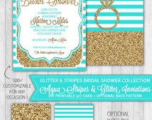 He Popped The Question Bridal Shower Invitation | just b.CAUSE
