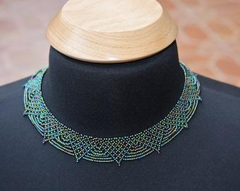 Saraguro Hand Beaded Necklace