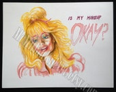 "Night of the Demons ""Suzanne"" Art Print OUT OF PRINT"