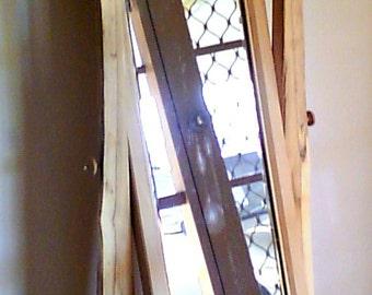 White Oak Cheval Mirror